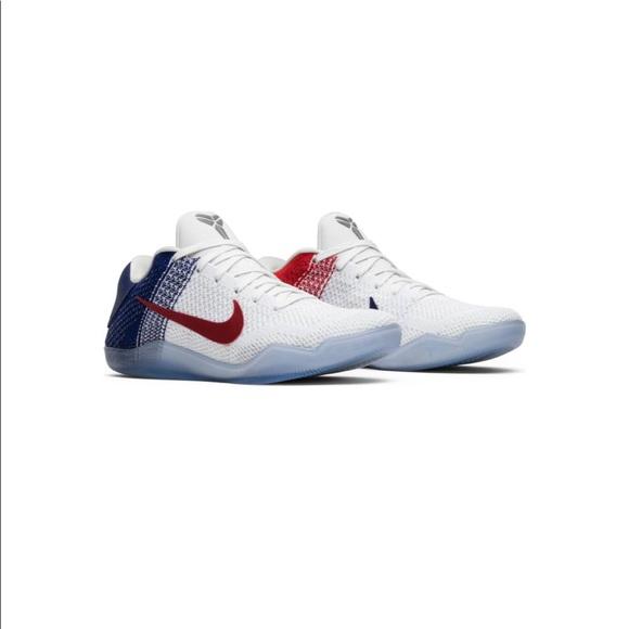 """49b5ea5389d3 Nike Kobe 11 Elite Low """"USA"""" Men s sneakers. M 5be9143a2beb79d2566bbad5"""